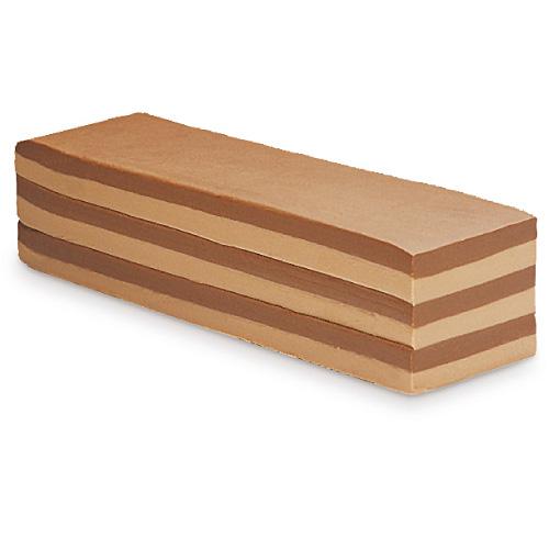 Schichtnougat-Block