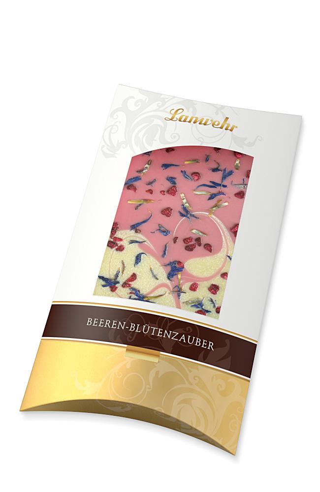 Schokolade Beeren-Blütenzauber