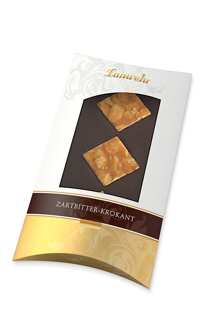 Schokolade Zartbitter-Krokant