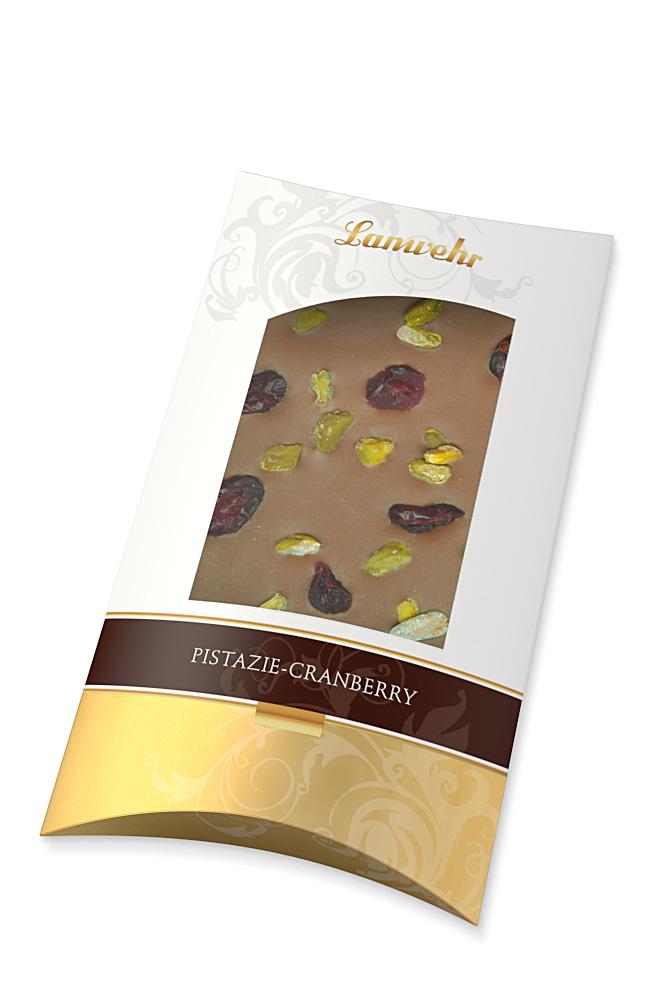 Schokolade Pistazie-Cranberry