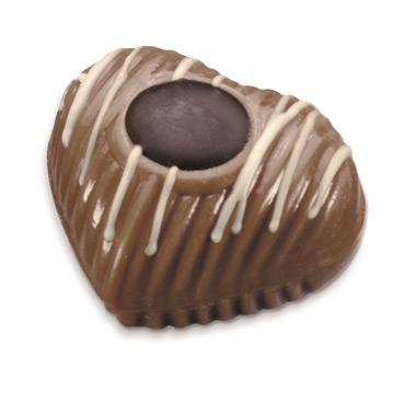 Mousse au Chocolat Herzchen