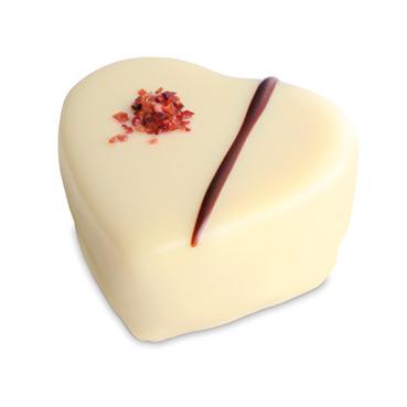 Vanille-Erdbeer-Herz