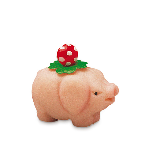 Schweinchen dekoriert