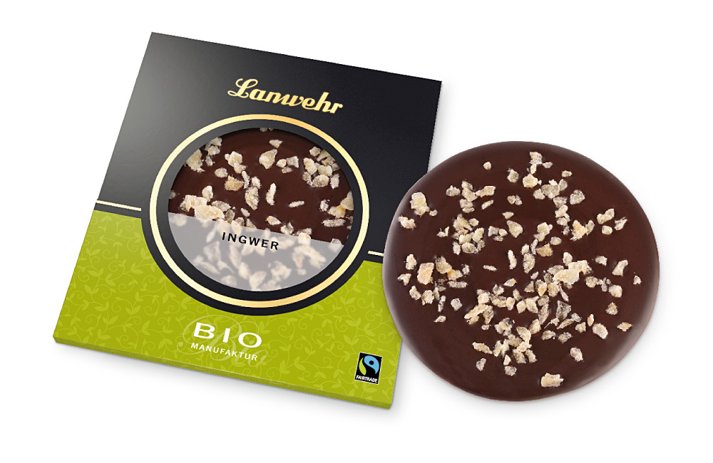 Ingwer Schokoladentaler