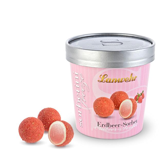 Sorbet Trüffel Erdbeer