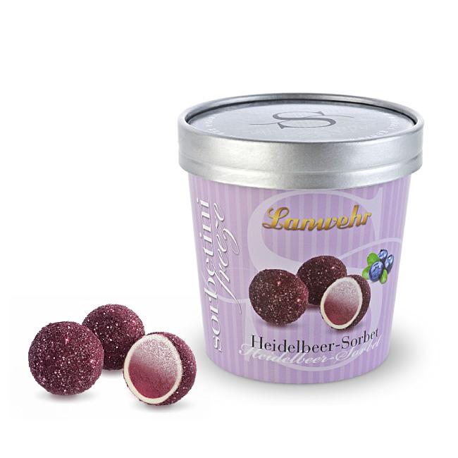 Sorbet Trüffel Heidelbeer Joghurt