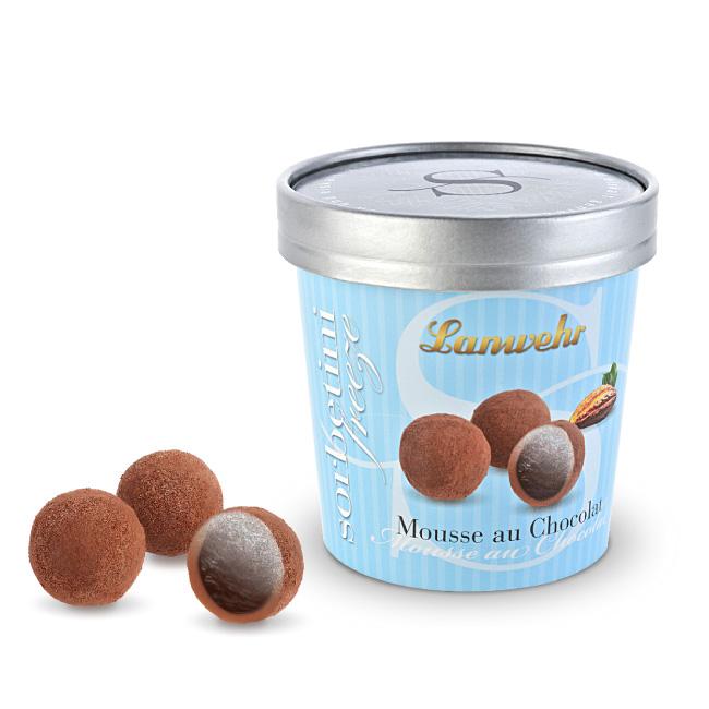 Sorbet Trüffel Mousse au Chocolat