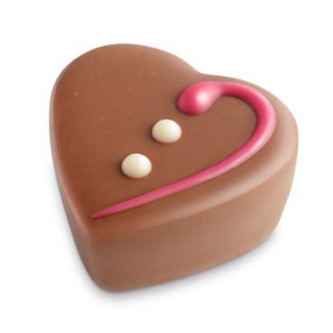 Herztrüffel Sahne-Caramel